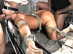 Servile milf Ava Devine bound and fucked like a sex slave