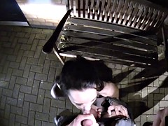 Outdoor cop british babes blowjob in the car