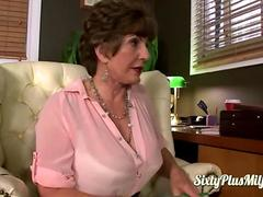 Stunning mature teach relax
