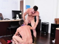 Straight guy moans during blowjob gay Lance's Big Birthday S