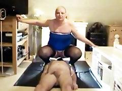 Toilet femdom