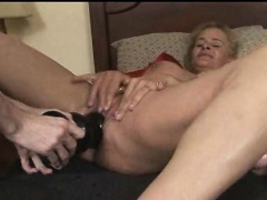 Phat Breasts Fisting Beauty Rammed
