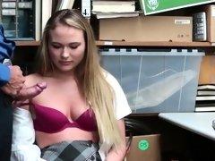 LP Officer goes deep fucking Alyssa Coles pussy