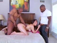 Valentina Nappi Takes Black Cocks