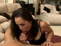 Sexy Brunette MILF Kristina Rose Takes It Up The Ass