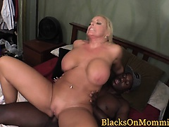 Cockhungry milf interracially spitroasted