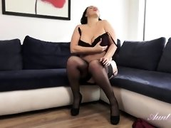 Auntie 20 04 24 Devon Jerk Off Instructions Bed Masturbati
