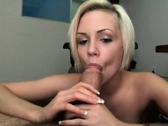 Gorgeous and sexy blonde shows amazing