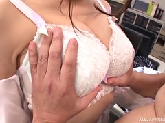 office affair with an alluring japanese sex goddess