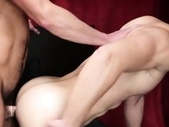 Bare males are horny and pleased by such anal romance