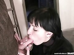 Bitch STOP - Slovak brunette gets anal and pussy fucked