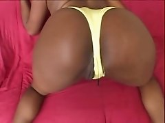Ebony Slut Threesome