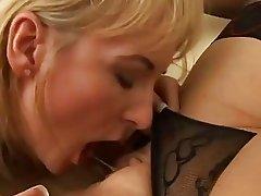 Its MILF vs. GILF in Sexy Lesbian Fucking!