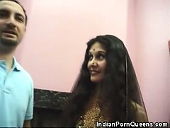 Indian Honey Strips And Sucks Cock!