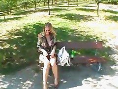 Jane Darling in public park sex